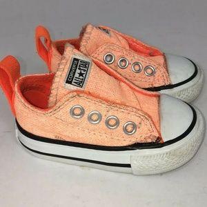Converse Chuck Taylor All Star Simple Slip Orange